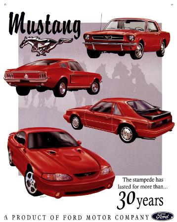 Ford Mustang 30 Year Tribute