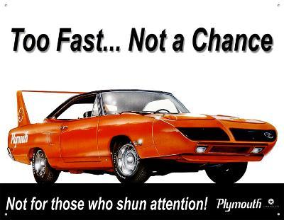 Plymouth Superbird Too Fast