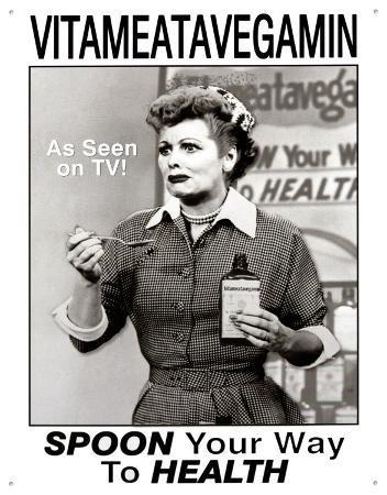 I Love Lucy Vitameatavegamin