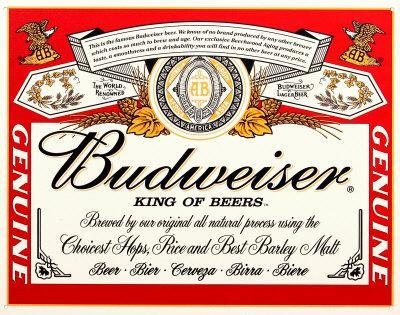 Budwiser Label