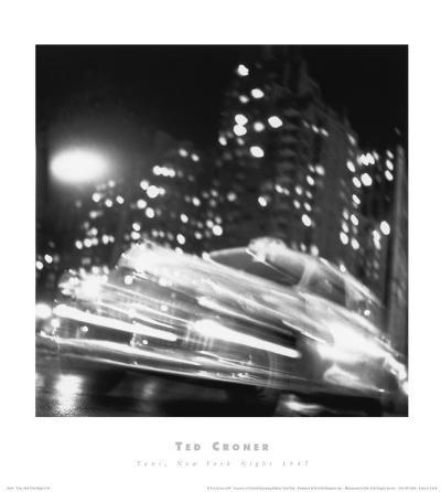 Taxi, New York Night, c.1947