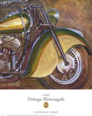 Vintage Motorcycle II