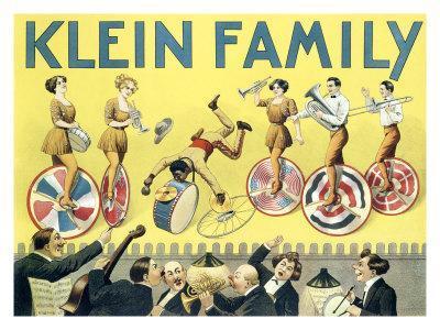Klein Unicycle Family Circus