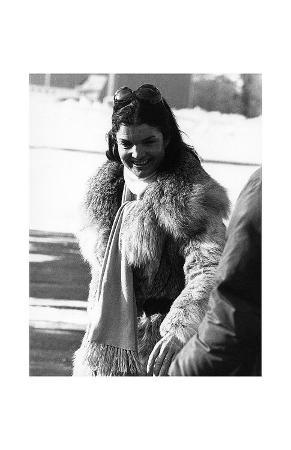 Jacqueline Kennedy Onasis in Snow