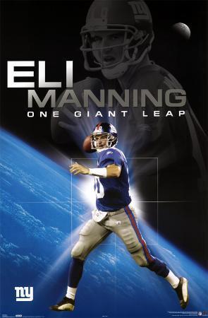 Eli Manning - New York Giants - One Giant Step