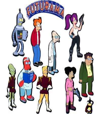 Futurama - Cast Collection
