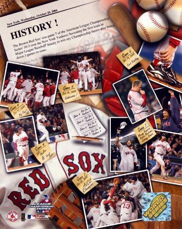 Boston Red Sox - Make History Composite - ©Photofile