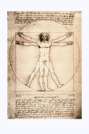 Vitruvian Man, c.1492