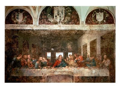 The Last Supper, c.1498 (pre-restoration)