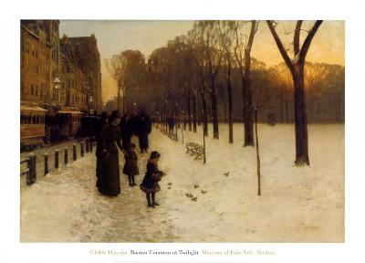 Boston Common at Twilight, 1885-86