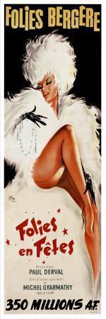 Folies-Bergere: Folies en Fetes, c.1964