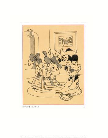 Minnie's Hobby Horse