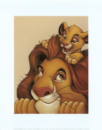 Simba and Mufasa: My Father, My Friend