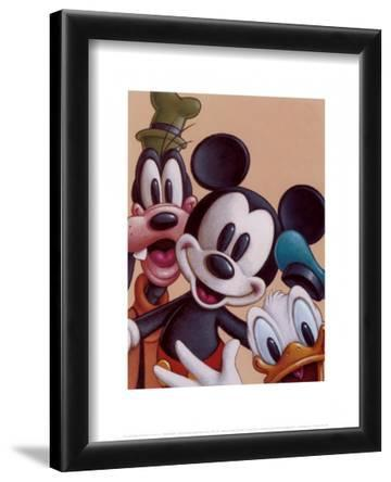 Mickey, Donald, and Goofy - Friends Forever