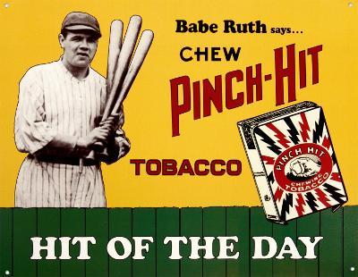 Babe Ruth Pinch Hit Tobacco