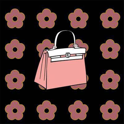 Purse in Soft Rose