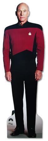 Captain Jean-Luc Picard Star Trek Next Generation Lifesize Standup Poster