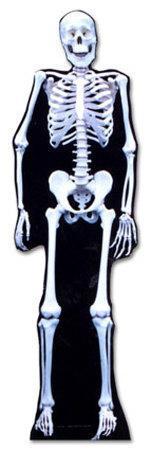 Glow In The Dark Skeleton Lifesize Standup
