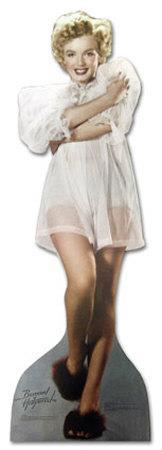 Marilyn Monroe - Nightie Lifesize Standup