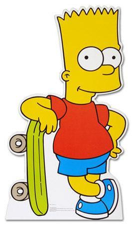 Bart Simpson The Simpsons TV Lifesize Standup Poster