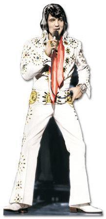 Elvis Presley - White Suit Lifesize Standup
