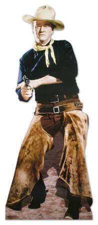 John Wayne with Chaps Lifesize Standup