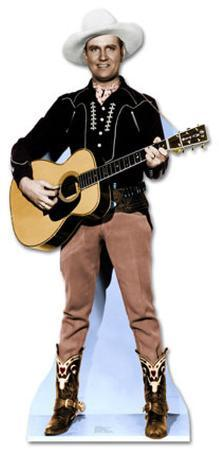 Gene Autry Playing Guitar Lifesize Standup
