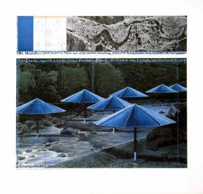 The Blue Umbrellas, 1991