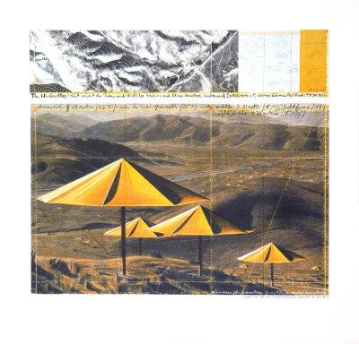 The Yellow Umbrellas, 1991