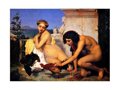 Young Greeks at a Cock Fight