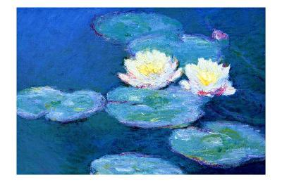 Waterlilies, Evening