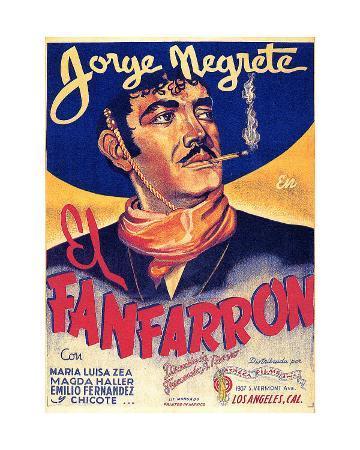Classic Mexican Movie: El Fanfarron with Jorge Megrete