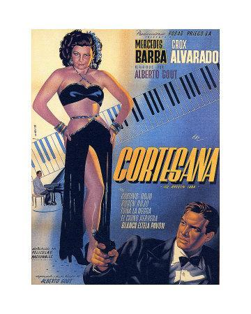 Classic Mexican Movie: Courtesana with Mecedes Barba
