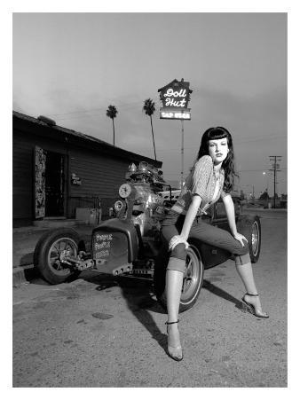 1950's Retro Doll Hut Amanda