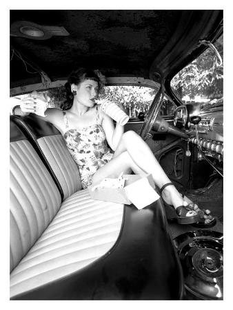Pin-Up Girl: Front Seat Street Rod