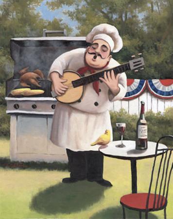 Barbecue Chef, Banjo