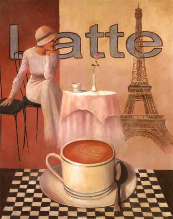 Latte, Paris