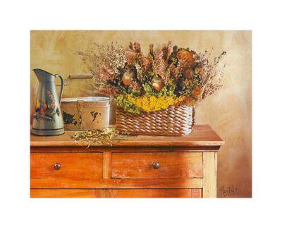 Flowers on Gramma's Sideboard III