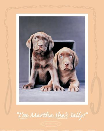 Martha and Sally