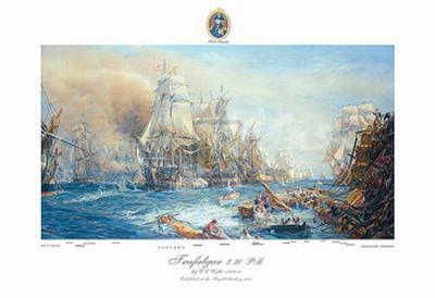 Battle of Trafalgar at 2:30 PM