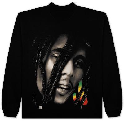 Long Sleeve: Bob Marley - Rasta Dread