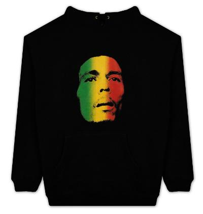 Hoodie: Bob Marley - Face