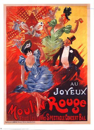Au Joyeux Moulin Rouge