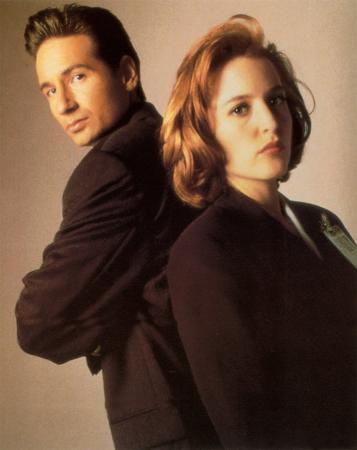 Fox Mulder & Dana Scully
