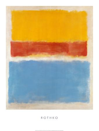 Untitled - Yellow, Red, Blue