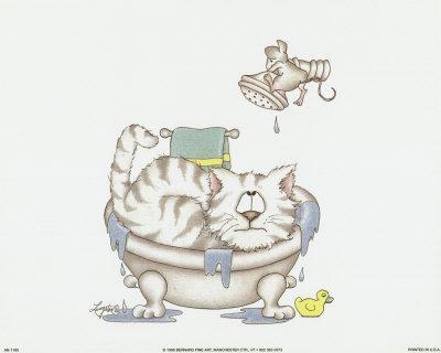 Bathroom Cats IV