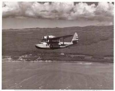 Inter-Island Airways, Sikorsky S-43, Kaunakakai, Molokai, Hawaii, 1936
