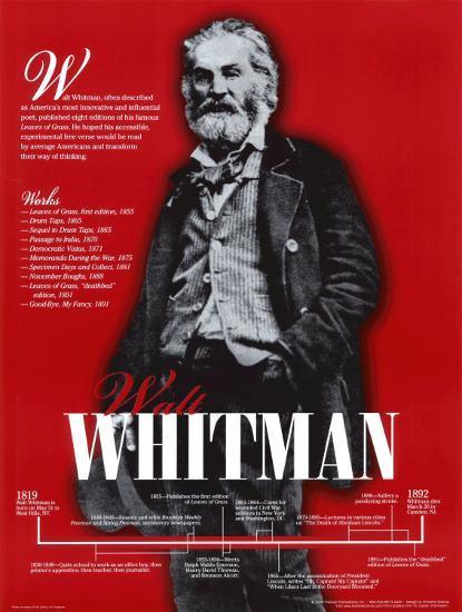 walt whitman hobbies