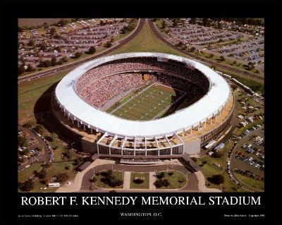 RFK Stadium - Washington Redskins World Champions 1991