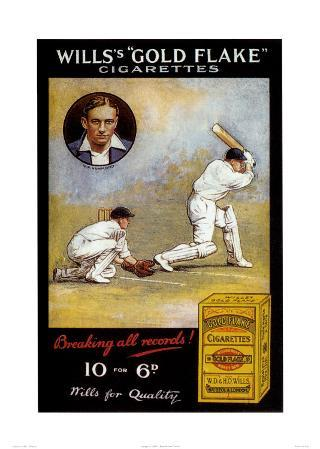 Wills's 'Gold Flake' Cigarettes, Breaking All Records